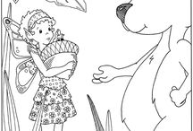 Coloring Pages - Fairies and Fantasy