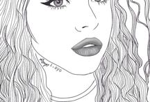 Dibujos tumblr ✒