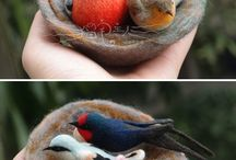 Felt Deeply / Wet and nuno felting. Maybe some needle felting, too. / by Charmaine Stack