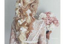 Bruiloft kapsels / Kapsel en inspiratie voor een bruiloft.
