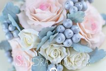 Beautiful and Delicate Sugarcrafted Flowers