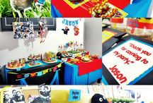 vinny 2nd bday ideas / by Rebekah Pellicciaro