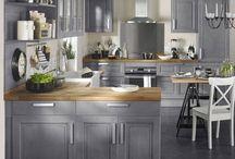 Lys Grå Kjøkken