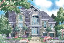 Island Style Home Plans - The Sater Design Collection / Island Style House Plans are typically cottage flavored home designs. They usually involve living areas that are elevated, often over parking below. This is ideal for coastal and waterfront properties or low lying land where flooding can be an issue. Island Style House Plans may be on open pilings, block columns or may have the lower levels totally enclosed.