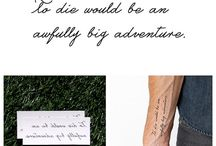 to die would be an anfully big adventure