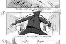 Storyboard / Storyboard drawing