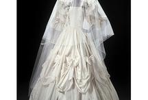 Past wedding dresses