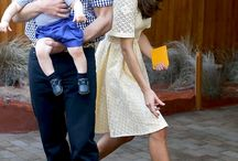 Kate Middleton, prințul William și copiii