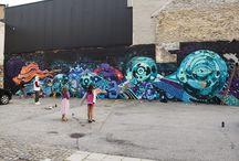 Dan Sapunar - Murals / Murals , street art , graffiti art
