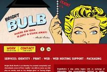 Red Website Design, get into it
