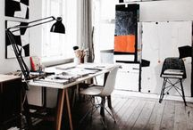 work stations. / by Kim Lester