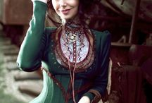 Idea's for fantasy/steampunk costumes / It's my online inspiration list for costumes.