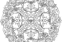 Creative Haven coloring pages By Dover / by Brenda Youngs