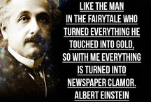 Albert Einstein quotes / http://www.quotes2love.com/man-behind-scientist-25-little-known-albert-einstein-fame-love-peace-religion/