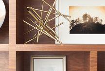 Living Room Shelves / by Michelle Wheeler
