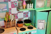 cocinas de carton