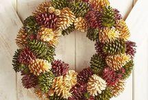 multicolor wreath