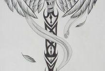 tatuaje pe piept