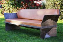 Canapé Wooden Fold ©