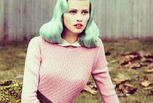 HAIR COLOR TREND : MAD ABOUT MINT