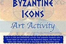 Byzantine Empire-World History / This is a board that focuses on the Fall of the Eastern half of the Roman Empire and the development of the Byzantine Empire.