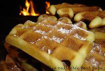 CREPES - GAUFRES - BEIGNETS / Recettes de crêpes, gaufres et beignets