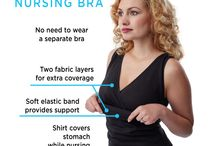 Cool Nursing Clothing / Clothes for breastfeeding moms :)