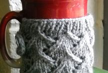 Knitted Coffee Cup Sleeve Patterns