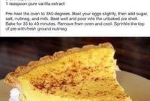 Custard pies