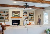 Family Room Redo / Ideas for lighting and furnishings