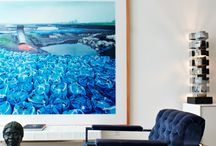 Art at Home / Art placement as a focal point in the home.