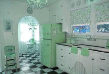 Bucătăria Retro / Reîntoarcere în minunata lume a designului anilor '60!