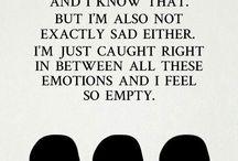 feelings...or lack of