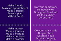 Collocations make versus do