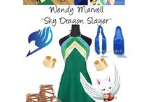 Fairy tail costumes