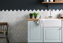 Creative tile ideas / Inspirational ideas for tiling your home