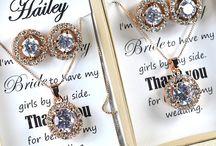 Jewell sets, clocks, bracelets