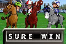 Sure Win / Il casinò Voglia di Vincere fa divertire non solo gli amanti di slot, ma, con Sure Win, anche gli appassionati di scommesse sui cavalli. Fantini e dai tratti… singolari e cavalli quantomeno bizzarri potrebbero farti vincere il montepremi fi 560.000 monete.