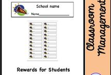 TPT store products - Back to School and Classroom Management / This board features products from my TPT store that are related to back to school and classroom management. It also includes classroom decor and clipart.