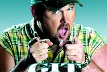 Larry The Cable Guy / by Daniel Buchanan