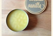 Vanilla coconut body butter