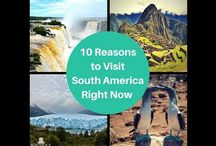 10 Reasons to visit South America / Planning to visit South America? Get to know  the best reasons for anyone to consider South America for their next journey. Examine the underlying features and reasons that make the continent, regions and sights so unique and unforgettable from anywhere else in the world.