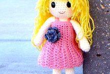 muñecas y muñecos crochet