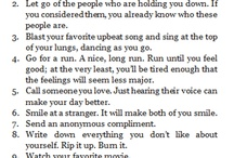 ways to be happy / by Samantha Hillman