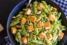 vegan pasta's