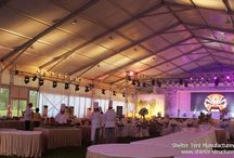 Owsome Patry Tent / Shelter's party tent is a kind of fabric structure designed with performance, flexibility and affordability in mind. It has a wide variety of uses and has been featured internationally at high profile venues. You'll impress everyone with the architectural beauty.Shelter's party tent are very stylish, heavy duty and durable.They come in a range of sizes and colors. Fast to set up and can withstand the hush weather.