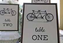 Ślub i wesele motyw roweru