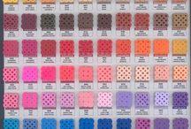 Color Charts / Perler/Hama/Nabbi/Artkal