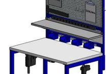 Industrial Workstations - LTW Ergonomic Solutions / LTW's  Electric Adjustable Height Ergonomic Workstations Combine Ergonomics with Economics! Get your ergonomic on! #GetYourErgonomicOn