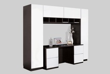Office / Office furniture. Desks, credenzas, bookcases and shelves. Probably some other neat stuff. / by Contempo Space